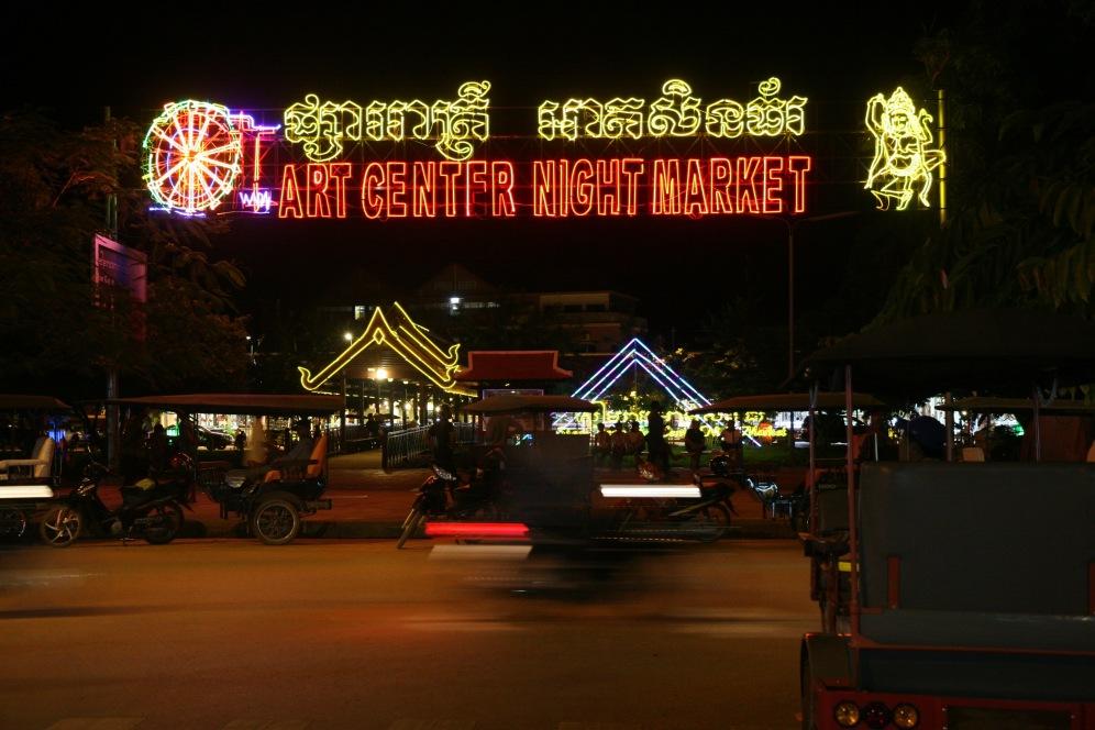 Siem Reap: Nachtszene