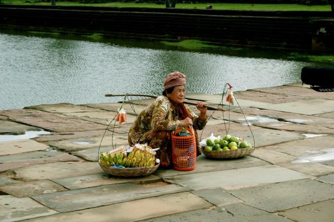 Angkor Wat: Verkäuferin
