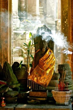 Angkor Wat: Räucherstäbchen