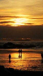 Sonnenuntergang am Pazifik in Washington State