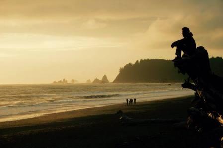 Pacific Northwest Abendstimmung