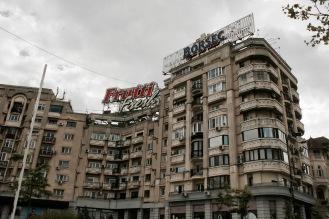 Kommunistischer Bau in Bukarest