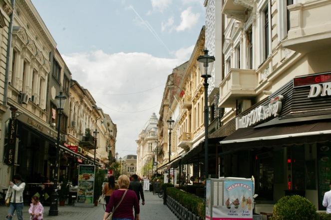 Lipscani in Bukarest