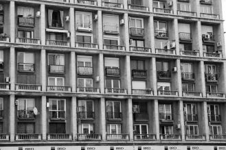 Einöde in Bukarest