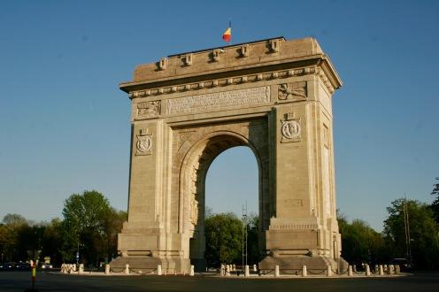 Triumphbogen Bukarests