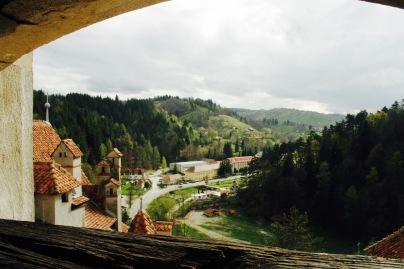Schloss Bran: Aussicht