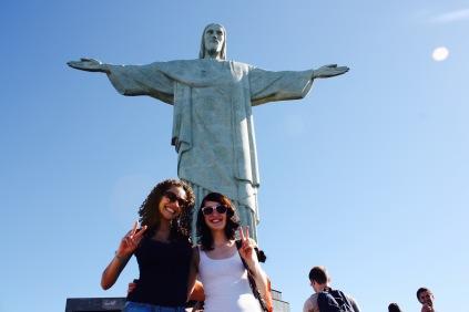 Wahrzeichen Rios: Cristo Redentor