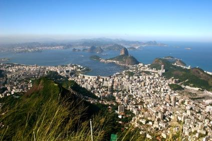 Zuckerhut von Weitem in Rio de Janeiro