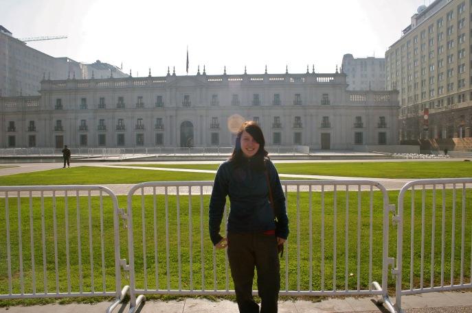 Regierungsgebäude in Santiago de Chile