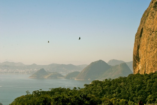 Felsformationen vor Rio de Janeiro