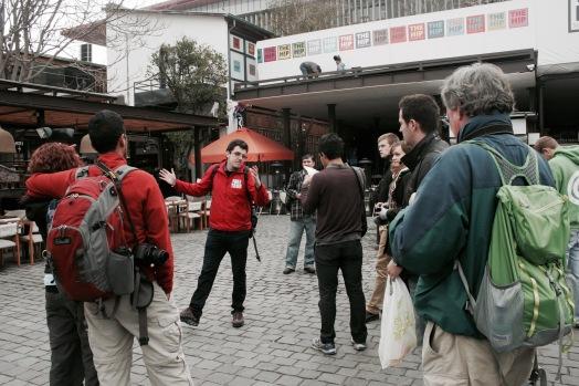 Free Walking Tour in Santiago