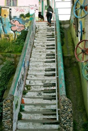 Kunst wohin das Auge reicht in Valparaiso