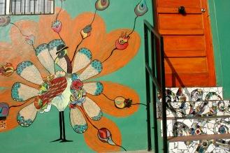 Kunstvolle Häuser in Valparaiso