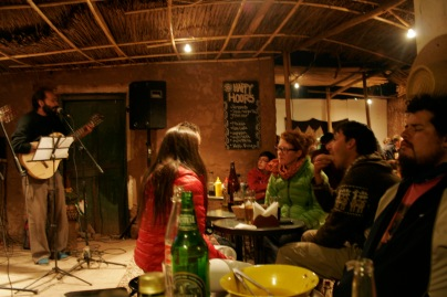 Coole Bar in San Pedro mit Live Music