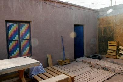Häuschen meines Gastgebers in San Pedro de Atacama