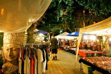 Chiang Mai: riesiger Nachtmarkt