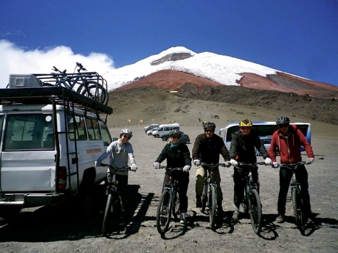 Downhill Tour am Cotopaxi Vulkan in Ecuador