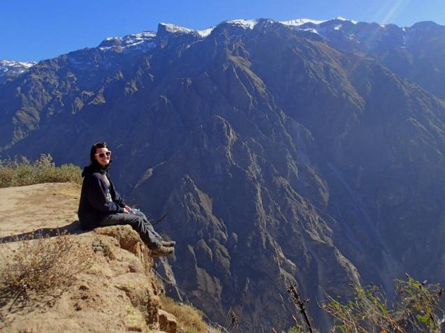 Atemberaubender Colca Canyon in Peru
