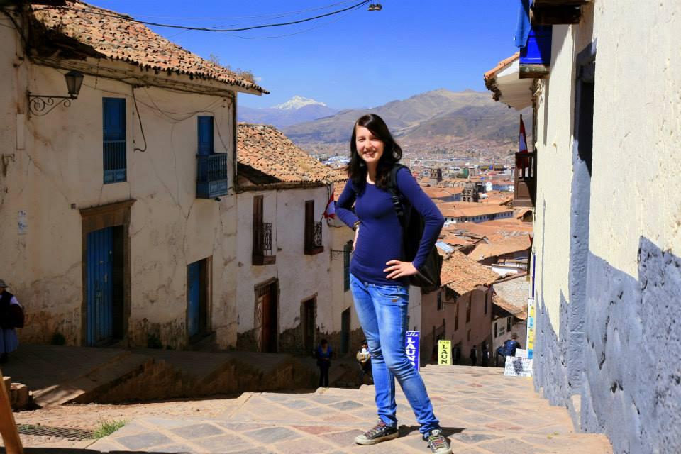 Sonnenschein in Cusco