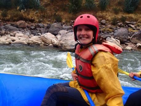 Rafting im wunderschönen Peru