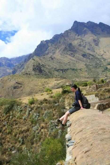 Inka Trail: erste paar Meter