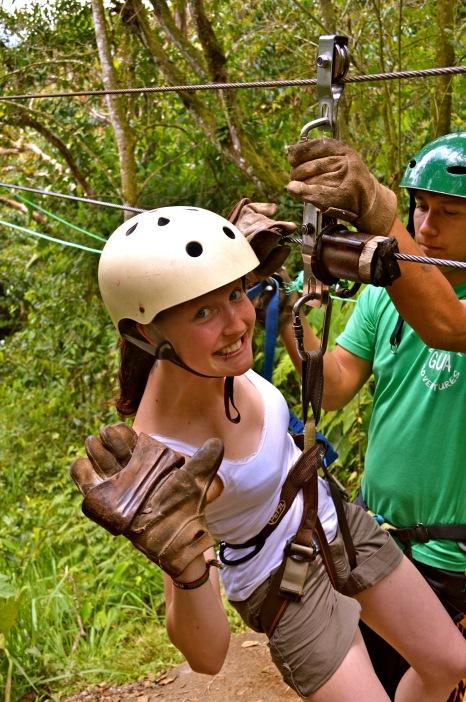 Ziplinen durch den Dschungel Ecuadors