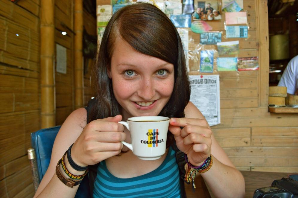 Kaffeefarm von Don Elias: frischer Kaffee