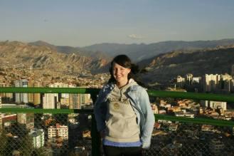 Jasmin auf dem Mirador Killi Killi in La Paz