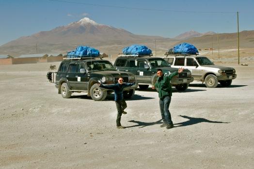 Grenzübergang Chile - Bolivien