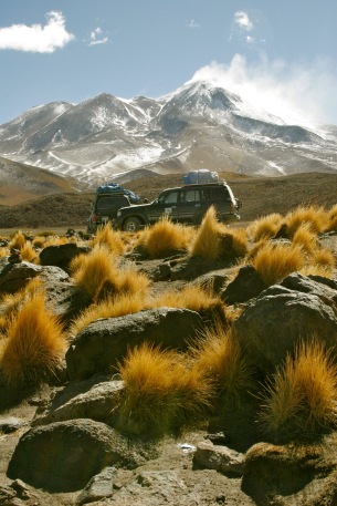 Anden Galore mit Jeeps