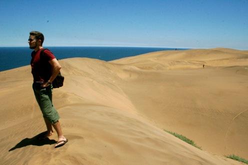 Dünen von Viña del Mar - ziemlich beeindruckend