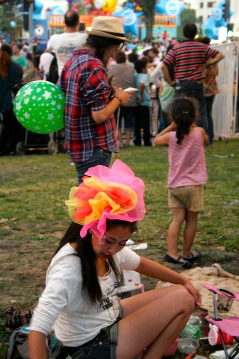 Santiago de Chile: Festlichkeiten zum Weihnachtsfest