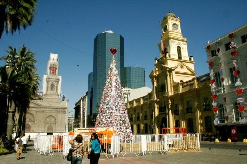 Hauptplatz in Santiago de Chile