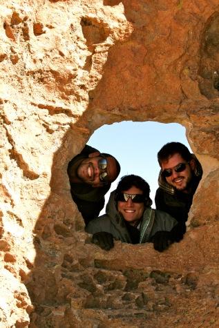 Mondlandschaft in Bolivien
