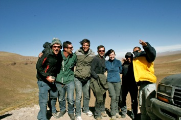 Auf dem Weg nach Salar de Uyuni in Bolivien