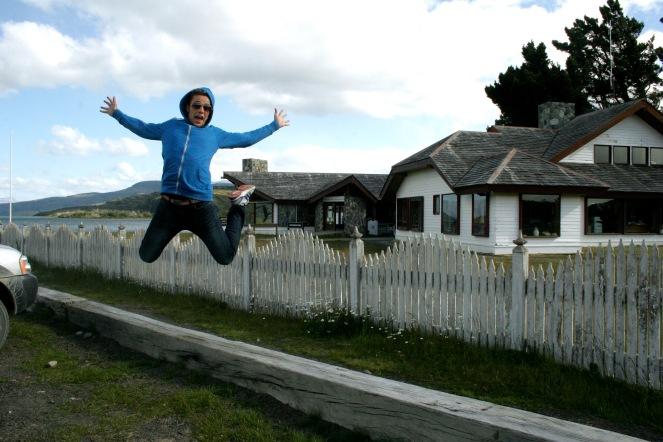 Ankunft im Torres del Paine