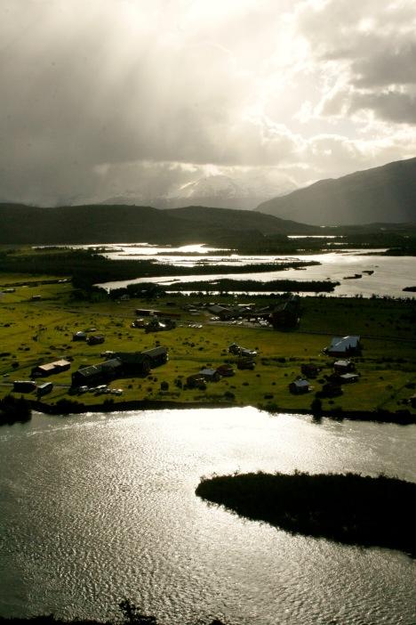 Torres del Paine: Moment der Sprachlosigkeit