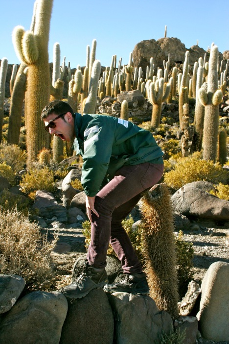 Salar de Uyuni: Vorsicht