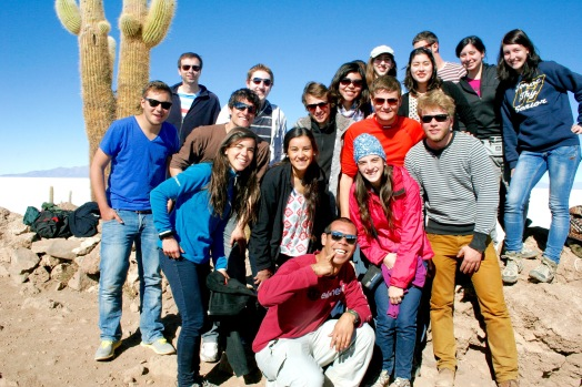 Salar de Uyuni: Gruppenfoto