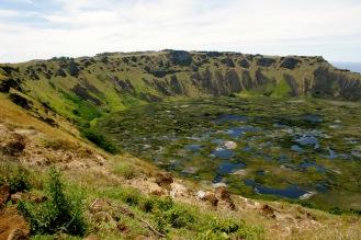 1,5km Kraterdurchmesser beim Rano Kao