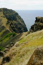 Krater des Rano Kao auf der Osterinsel
