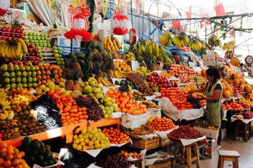 Marktbesuch in Cusco