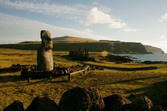 Moai – die kolossalen Steinstatuen