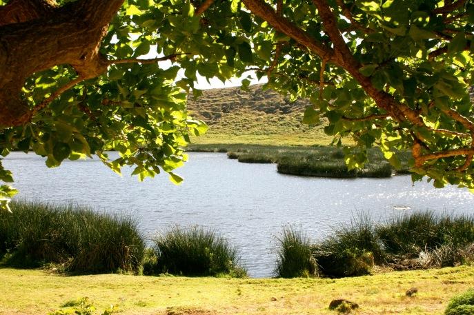 See auf der Osterinsel