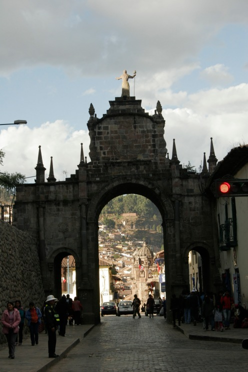 Innenstadt von Cusco, Peru