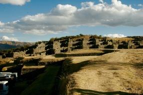 Ruine Saqayhuaman: Architektur der Inka