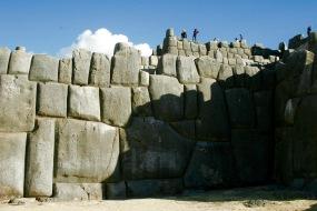 Ruine Saqayhuaman: Riesige Steine