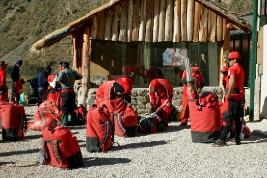 Inka Trail: letzte Vorbereitungen