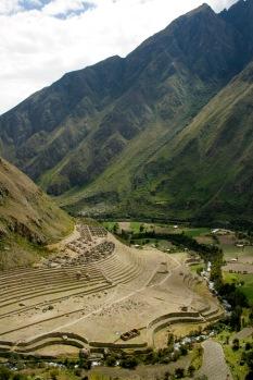 Inka Trail: Inka Ruinen auf dem Weg zum Machu Picchu