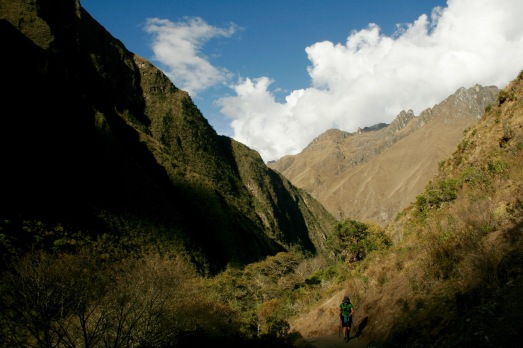 Inka Trail: erster Tag geht zu Ende